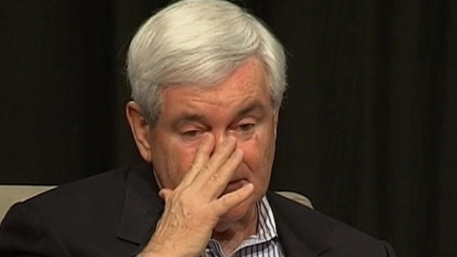 VIDEO: Newt Gingrich Tears Up Talking About Mother