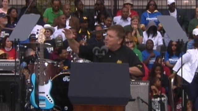 "VIDEO: The Teamsters President warns of the ""war on workers."""