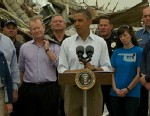 VIDEO: The president visits areas recently damaged by tornado activity.