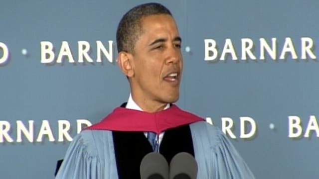 VIDEO: President Obama Speaks to Barnard Graduates