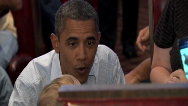 VIDEO: Obama Coos to Toddler