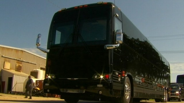 VIDEO: Obama Debuts New Presidential Bus on Rural Tour