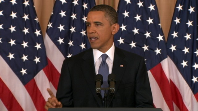 VIDEO: President outlined new policy changes for Middle East and rest of Arab World.