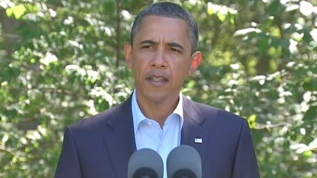 VIDEO: Obama: The Gadhafi Regime Is Coming to An End