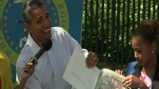VIDEO: Where the Wild Things Are: Obama Reads to Kids