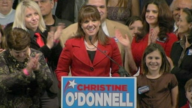 VIDEO: Christine O'Donnell issues set of demands to Democratic winner Chris Coons.