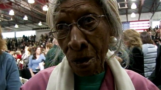 VIDEO: Oldest Woman in Osawatomie: Obama Visit Fulfilled Dream