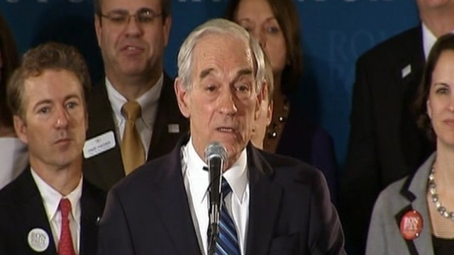 VIDEO: Ron Paul: 3rd Place Nothing to Be Ashamed of