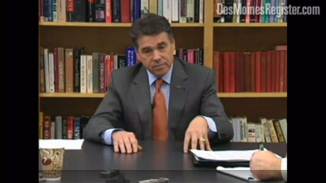 VIDEO: GOP contender Rick Perry can't remember Supreme Court Justice Sonia Sotomayor.