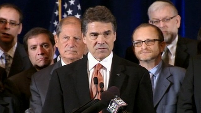 VIDEO: Rick Perry Assails Obamas Middle East Policy