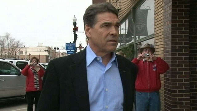 VIDEO: GOP contender Rick Perry has previously called for Social Security reforms.