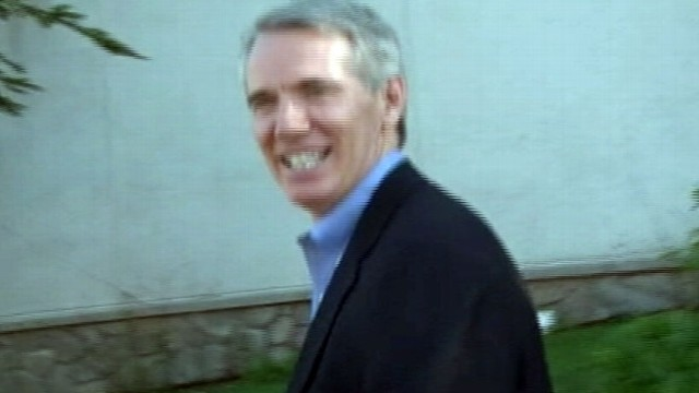 VIDEO: ABC News exclusively talks with Rob Portman outside Romney retreat.