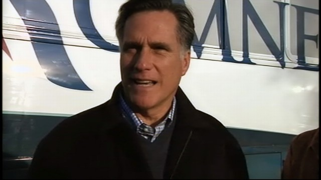 VIDEO: 2012: Romney Surprised by Elder Bush Endorsement
