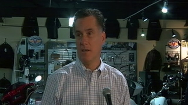 VIDEO: Mitt Romney Defends Time at Bain, Jobs Record