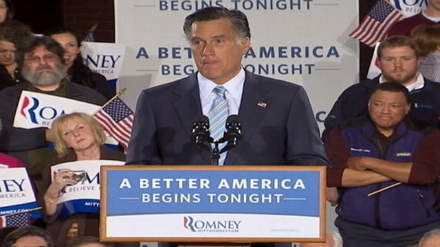 VIDEO: GOP Frontrunner vows to take the white house come next November.