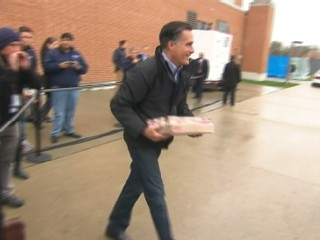 Romney Rally Morphs Into Relief Effort
