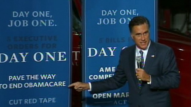VIDEO: Romney Lays Unveils Jobs Plan