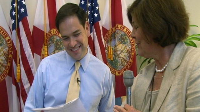 VIDEO: Sen. Marco Rubio Gets VP Nod ... from the Tea Party
