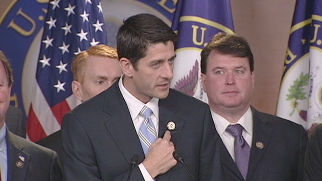 VIDEO: Rep Paul Ryan: 'This Not a Budget, This Is a Cause'
