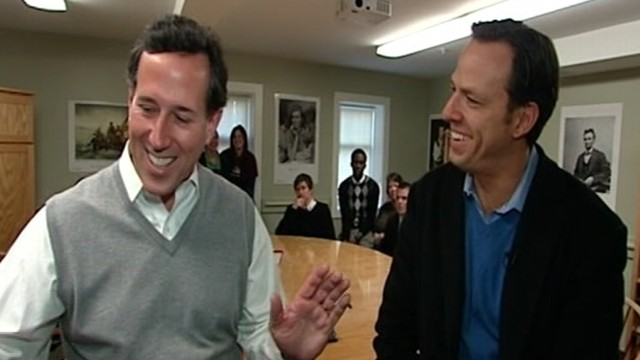 VIDEO: Santorum: Romneys Health Care Record Convoluted