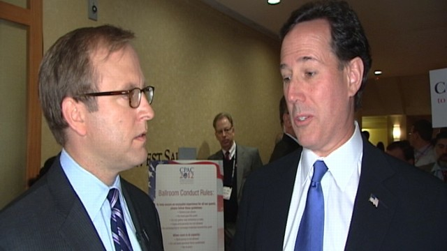 VIDEO: Santorum Clarifies Concerns on Women in Combat