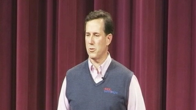 VIDEO: Santorums Veiled Comparison of Obama to Hitler