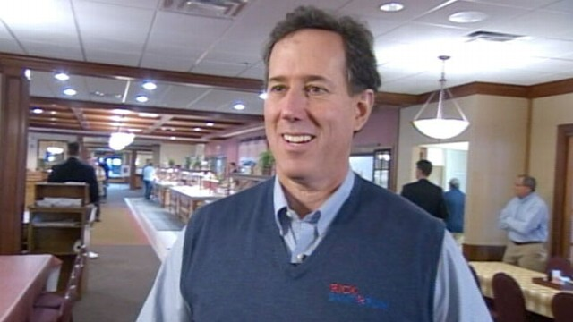 VIDEO: Rick Santorum: Were Winning in Ohio