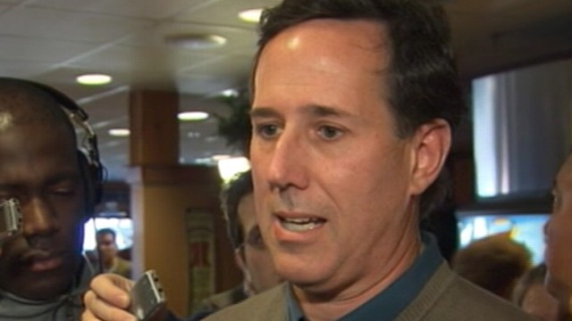 VIDEO: 2012: Rick Santorum Explans '06 Loss
