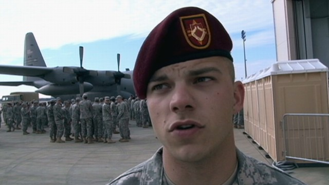 VIDEO: Fort Bragg Troops Reflect on End of Iraq War