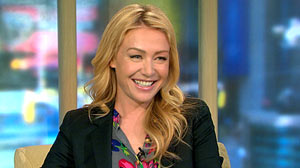 "PHOTO Actress Portia de Rossi appears on ""GMA"" to talk about her new book, ""Unbearable Lightness: A Story of Loss and Gain."""