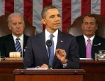 President Barack Obama delivers the State of the Union address, Jan. 25, 2011.