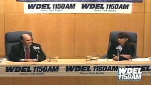 Video of ODonnell, Coons debate on WDEL.