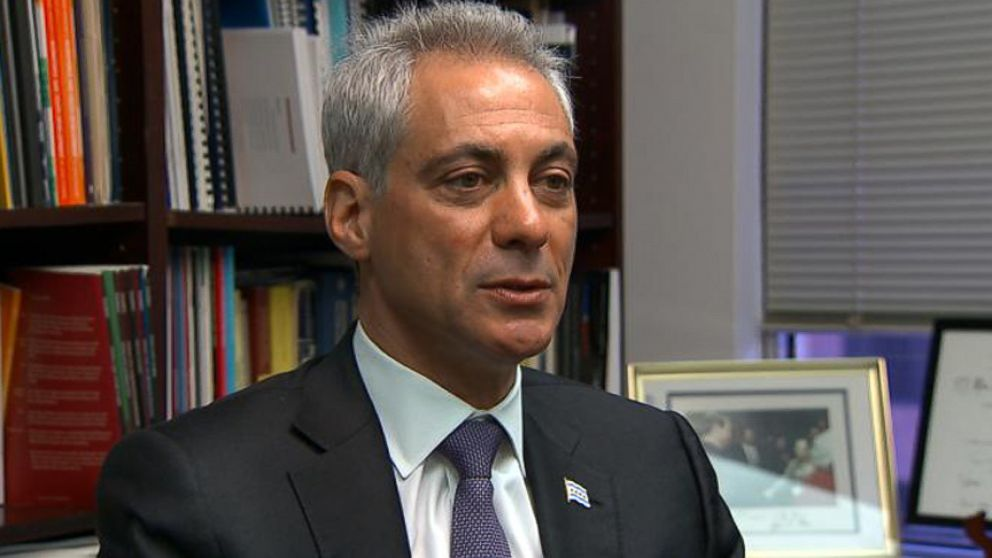 The Chicago mayor tells ABC News Jim Avila why he thinks Hillary Clinton is the best choice.