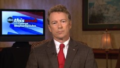 PHOTO: Senator Rand Paul (R) Kentucky on 'This Week'