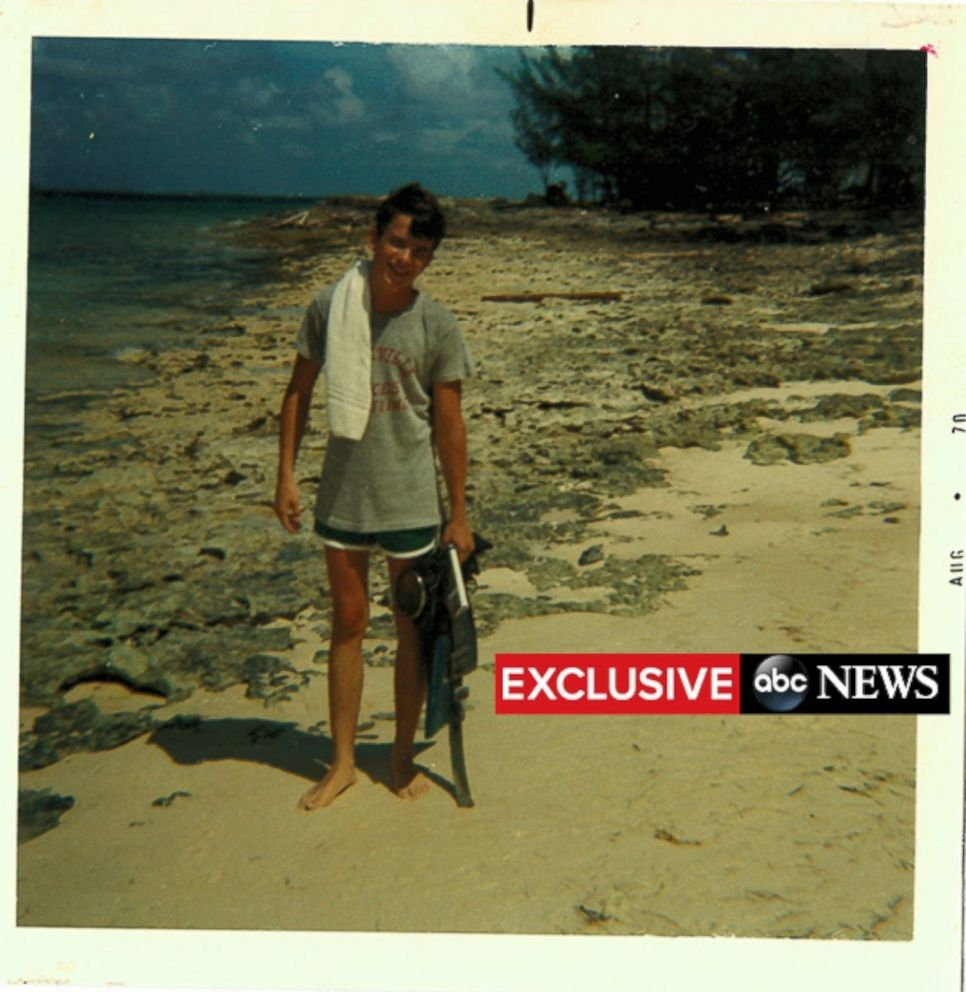 PHOTO: Steve Reinboldt seen here on the beaches of the Bahamas.
