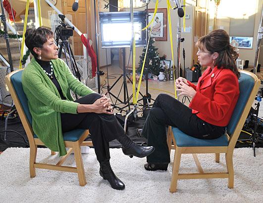EXCLUSIVE: Sarah Palin Sits Down With Robin Roberts