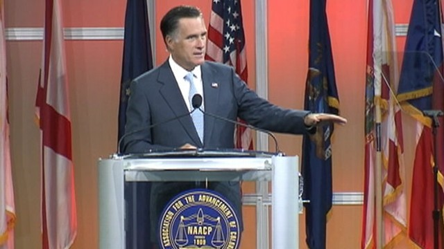 VIDEO: Mitt Romney is booed at NAACP event in Houston.