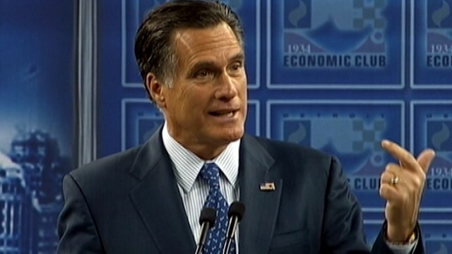 VIDEO: Romney reveals numerous cars he owns, including &quot;two cadillacs&quot; his wife drives.