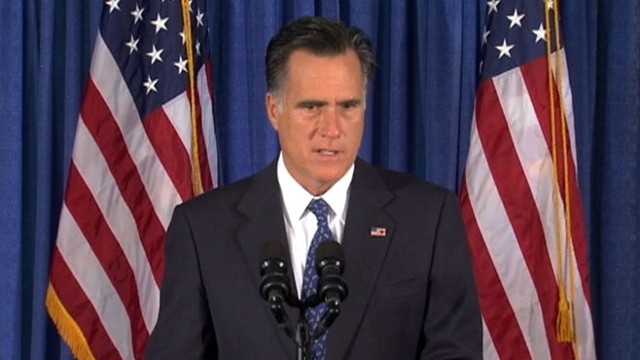 VIDEO: Mitt Romney defends criticism of Obama administrations response to embassy breach.
