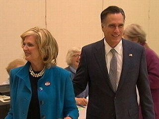 Watch: Mitt Romney Votes, Feels 'Great' About Ohio