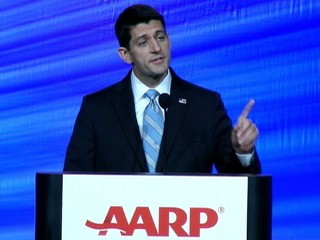 Watch: Paul Ryan Booed at AARP Convention