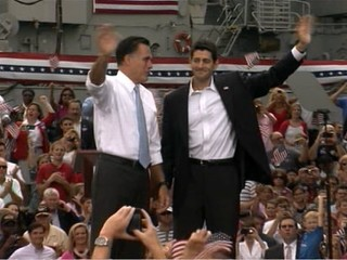Romney Introduces Paul Ryan as Running Mate