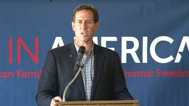 "VIDEO: GOP candidate says his ""campaign doesnt hinge on unemployment rates."""