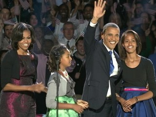 Watch: Obama Women Dazzle on Election Night