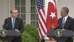 VIDEO: President Obama says US will continue pressure on Syrian President Bashar Assad amid opposition.