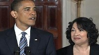 Photo: Sonia Sotomayor is Obama's Supreme Court Pick to Replace David Souter: Sotomayor To Become First Hispanic Supreme Court Justice if Confirmed.