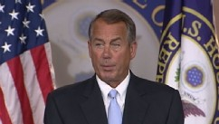 VIDEO: House Speaker John Boehner says he will work hard to repeal current health care regulations.