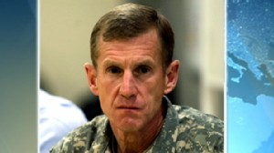 VIDEO: President Obama accepts resignation of top U.S. general in Afghanistan.