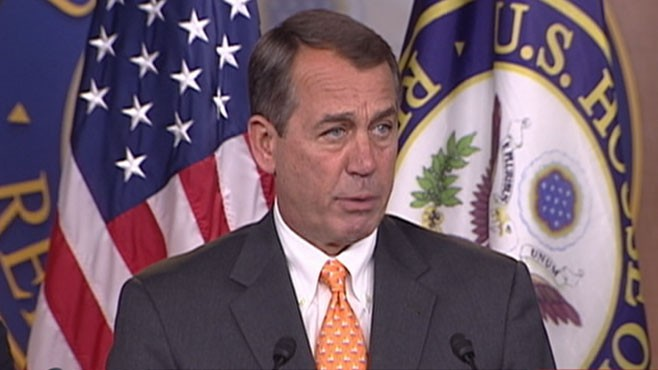 "VIDEO: New Republican House leader promises to ""be the voice of the American people."""
