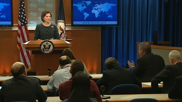 VIDEO: Spokesman Victoria Nuland pressed on U.S. &quot;quiet diplomacy&quot; policy.